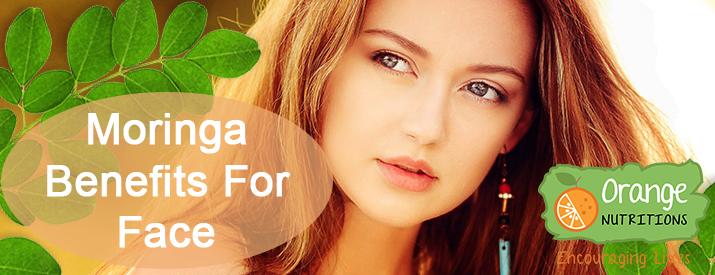 moringa benefits for face